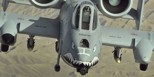McSally thinks she tricked Trump on A-10s