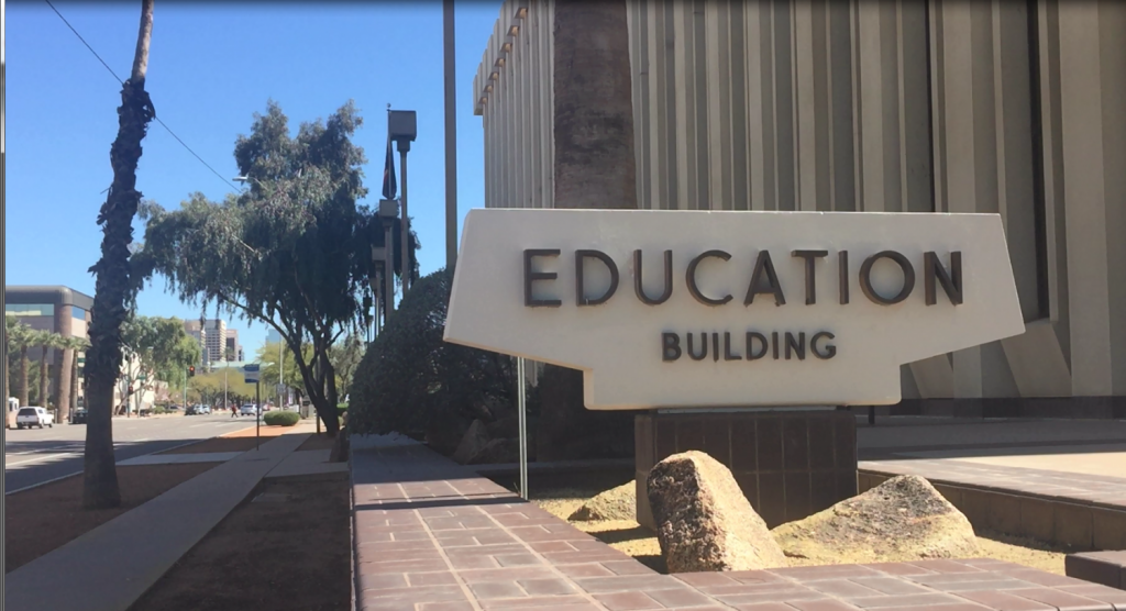 Arizona Department of Education building.