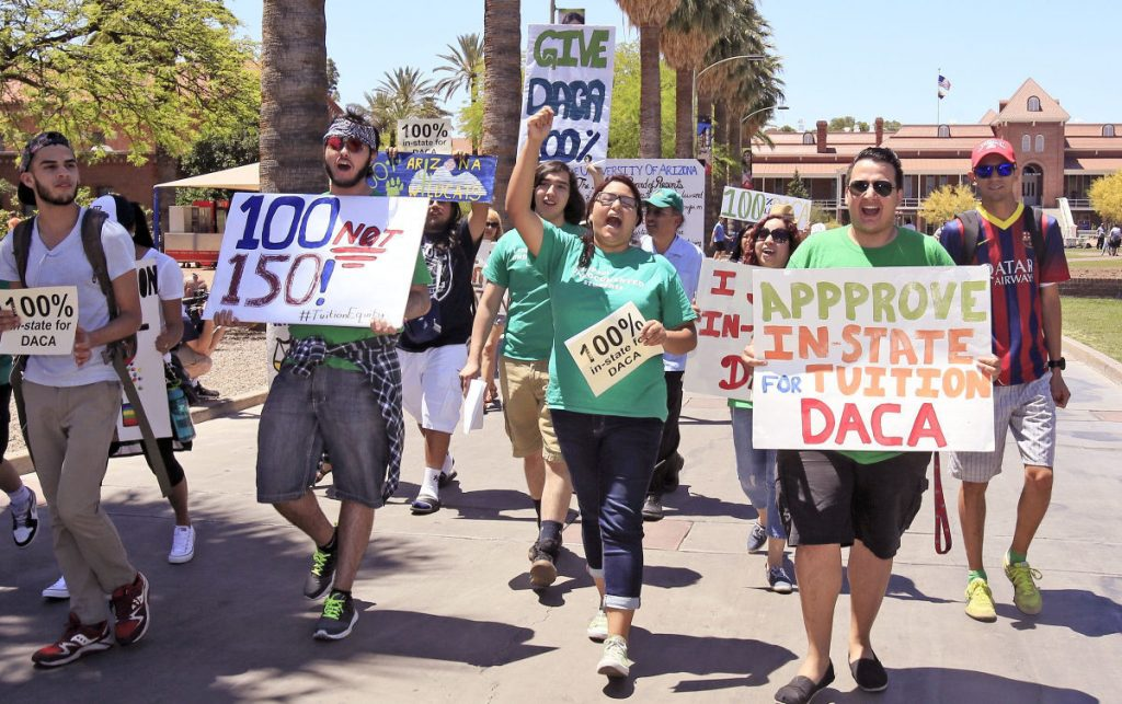 DACA Dreamers (Deferred Action for Childhood Arrivals)
