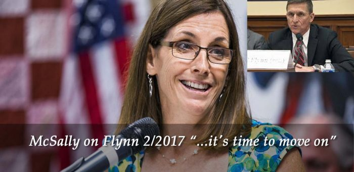 McSally on Michael Flynn- phone in townhall recording