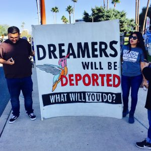 DACA demonstration photo