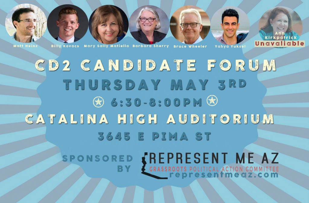 Represent Me AZ Forum May 3rd 2018