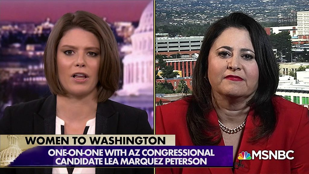 Lea Marquez Peterson on MSNBC Unchecked