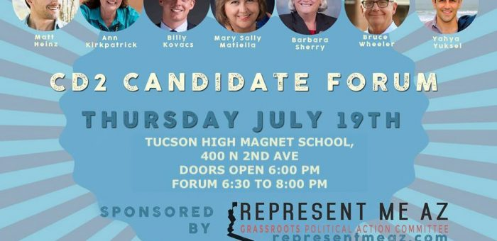 CD2 Candidate Forum July 19th, 2018