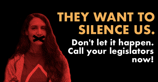 They Want To Silence Us!
